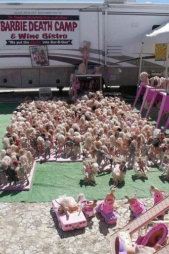 Love Your Body Ritual - Burn Barbie