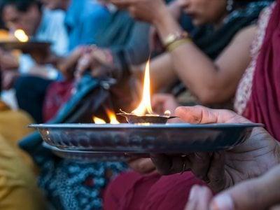 Hindu prayer ritual