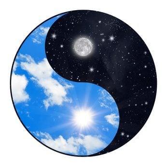 Yin Yang Light and Darkness